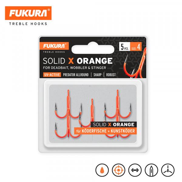 Fukura Solid X Orange Gr. 4