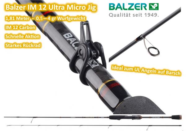 Balzer Ultra Micro Jig IM12 Edition 1,81m 0,5-4gr.