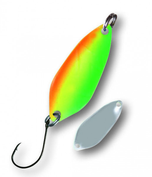 Trout Spoon I 2,3g rainbow-silber