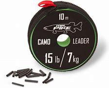 Mr. Pike Camo Coated Leader 10m