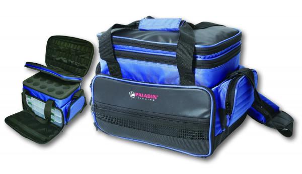 Boxentasche Blue Line Trout Bag Forellentasche mit Boxen