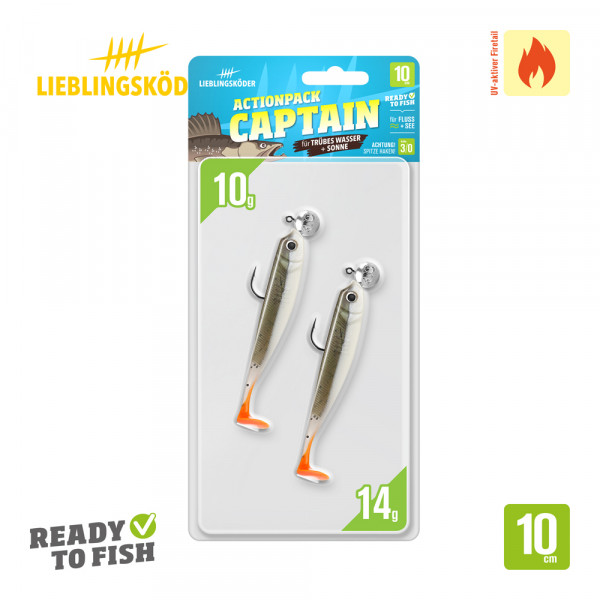 Lieblingsköder 10cm Actionpack Captain