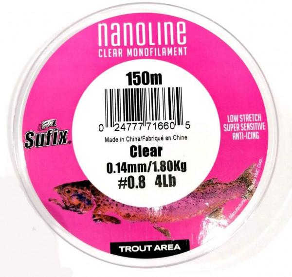 Sufix Nanoline clear UL Mono Schnur