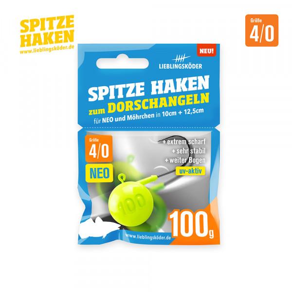 Spitze Haken 4/0 - 100gr Neo