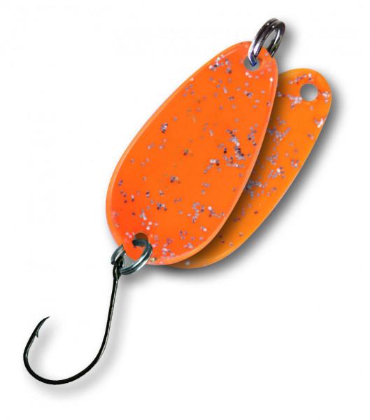 Trout Spoon II 1,8g orange/glitter