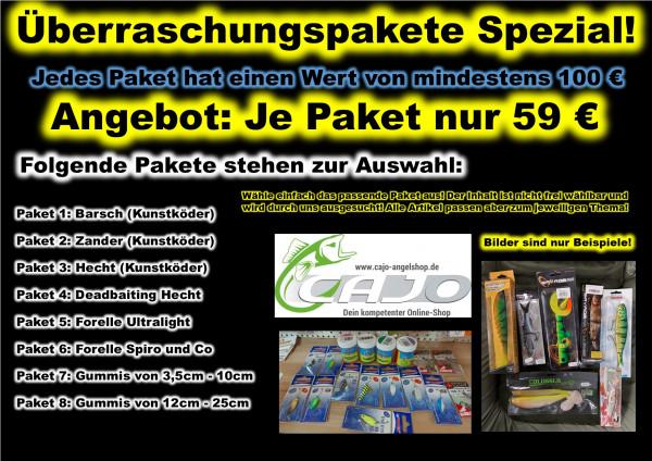 Überraschungs-Pakete Köder, Montagen & Zubehör