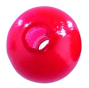 Shirasu Carolina Blei mit Perle rot