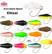Area Game Spoon Chisai 2,2g 2,5cm